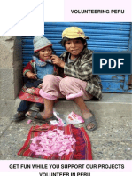 Free Brochure Volunteering-Peru