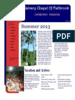 CCF - Cambodia  N.G.O.  Summer Report