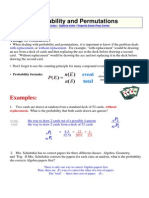 Probability and Permutations