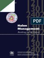 Halon Management