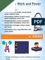 Energi, Usaha, Dan Daya Kelas VIII SMP Labschool Cibubur