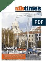 The Sibenik Times, July 11th