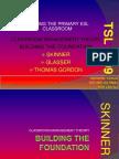 Building the Foundation Tsl 3109 Mr Retnam