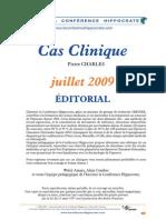 Cas Clinique Juillet 09