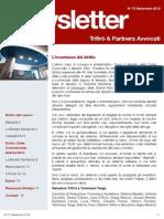 Newsletter T&P N°72