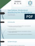 Sarcoidose Abdominal