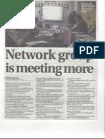 BforB Leek Thursday Group - Newspaper Article
