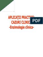 AplicatiiPractice1 Enzimologie Clinica