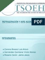 1.7 Seleccion de Equipos de Refrigeracion, 1.8 Propiedades Fisico-quimicas de Los Refrigerantes, 1.9 Manejo de Tablas de Propiedades de Los Refrigerantes