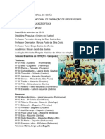 UNIDADE 3 - TAREFA 2 - Resgate histórico de atletas da seleção Nacional - Pesquisa e Ensino do Futebol.