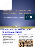 TECNOLOGÍAS DE PRODUCCIÓN  DE BIOCOMBUSTIBLES1
