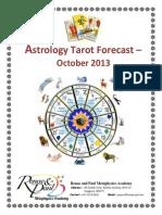 Astro Tarot - October 2013