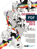 NUS Black History Month Guide 2013