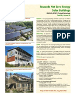 Towards Net Zero Energy Solar