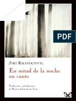 En Mitad de La Noche Un Canto - Kratochvil, Jiri