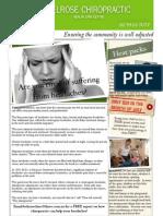 Belrose Chiropractic - Winter 2009 Newsletter