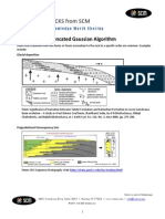 SCM Truncated Gaussian Algorithm Petrel 2010