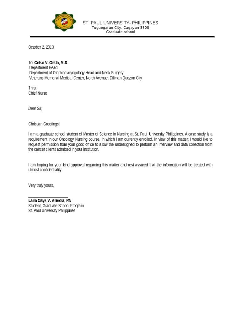 Permission Letter  Permission Letter