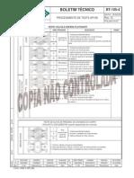 BT-105-4(G) Procedimento de Teste API 6D