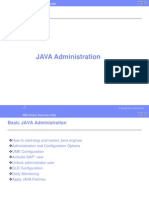 Basic JAVA Administration_2[1].0 for sap basis