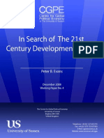Evans - 2008 - In Search of the 21st Century Developmental State[1]