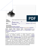 Auguste Comte Bibliografia e Obra