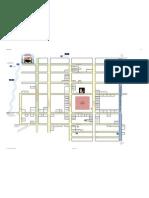 Vilcabamba Ecuador Map with shops and restaurants