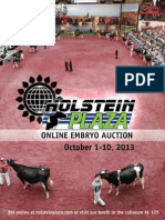 Sale Catalog - Holstein Plaza Online Embryo Auction 'Expo Edition'