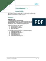 Performance 3.5 Vmware Image Guide_v2