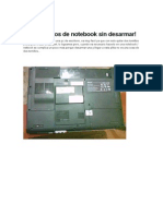 Resetear Bios de Notebook Sin Desarmar