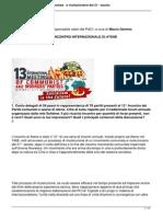 I COMUNISTI ITALIANI E L'INCONTRO INTERNAZIONALE DI ATENE