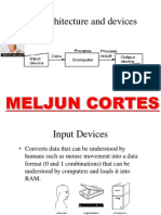 MELJUN CORTES I/O ARCHITECTURE DEVICES
