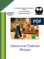 QUÍMICA DE LAS TRADICIONES MEXICANAS