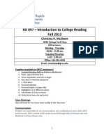 reading 097 syllabus mcelwee fall 2013