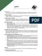 factsheet isoflurane