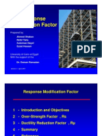 Response Modification Factor