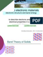 LN2 Kimia Bahan Semikonduktor 2011-2 Electronic Structure