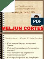 MELJUN CORTES Organizing in Management
