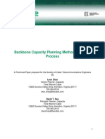 Backbone Capacity Planning Methodology and Process