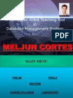 MELJUN CORTES SYSTEM & ERD DBMS