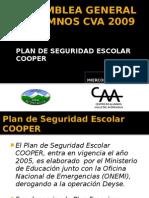 2º ASAMBLEA GENERAL DE ALUMNOS CVA 2009