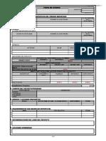 Ficha de Avance Constructodo Ltda