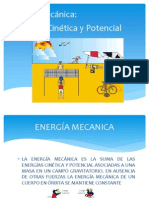 Energía POTENCIAL Y CINÉTICA