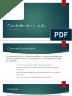 Contrôle des stocks