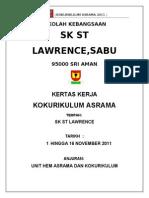 Kertas Kerja Asrama Suwa 2011