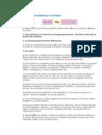 Articulo Determinado o Definido