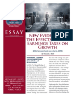 New Evidence Of The Effects Of City Earnings Taxes On Growth