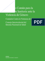 Protocolo Sanitario Ante La Violencia de Genero