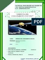 """""""GERENCIA DEL CONOCIMIENTO CON NTIC"""""""