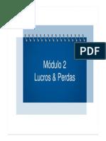 2 - Lucros & Perdas - 2013